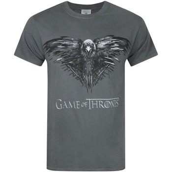 Vêtements Homme T-shirts manches courtes Game Of Thrones  Charbon