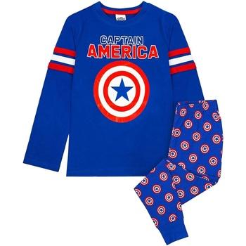 Vêtements Garçon Pyjamas / Chemises de nuit Captain America  Bleu