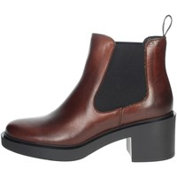 Chaussures Femme Boots Frau 80L3 Marron