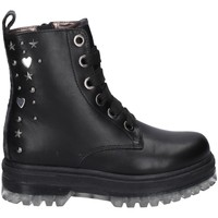 Chaussures Fille Boots Asso AG-12531 NOIR
