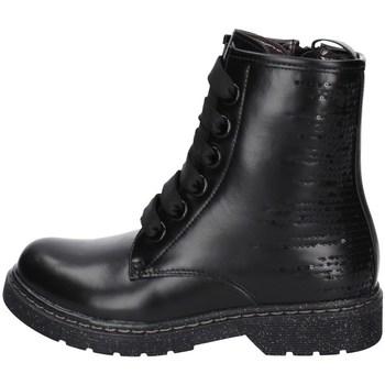 Chaussures Fille Boots Asso AG-12521 NOIR