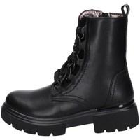 Chaussures Fille Boots Asso AG-12591 NOIR