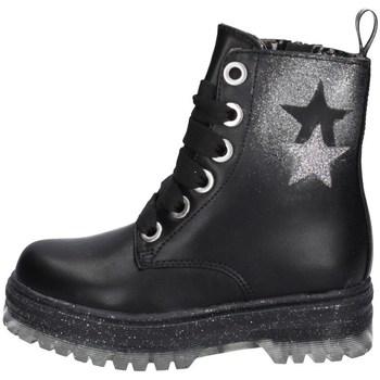 Chaussures Fille Boots Asso AG-12535 NOIR