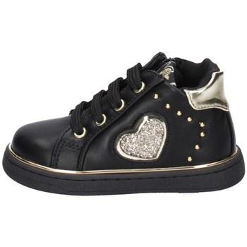 Chaussures Fille Baskets basses Asso AG-12682 NOIR