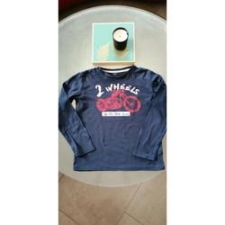 Vêtements Garçon T-shirts manches longues Autre Marque T-shirt manches longues 9 ans Bleu