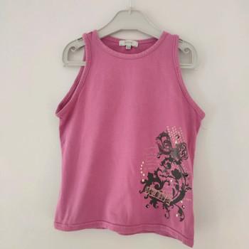 Vêtements Fille Tops / Blouses Autre Marque Top sans manches 10 ans Rose