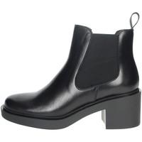 Chaussures Femme Boots Frau 80L3 Noir