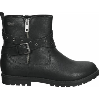 Chaussures Fille Boots S.Oliver Bottines Schwarz