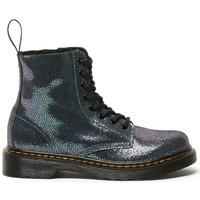 Chaussures Fille Boots Dr Martens 1460 PASCAL J Gris