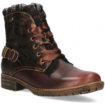 Chaussures Femme Boots Laura Vita Boots gacmayo 07 Marron