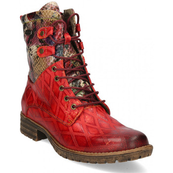 Chaussures Femme Bottines Laura Vita Boots gacmayo 217 rouge