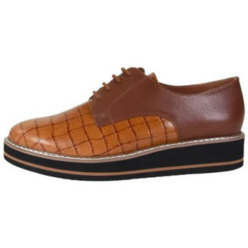 Chaussures Femme Derbies Karston Derby orplou Marron