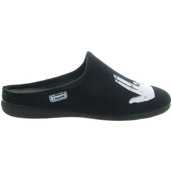 Chaussures Homme Chaussons La Maison De L'espadrille 6764 JUL Noir