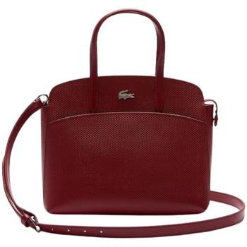 Sacs Femme Sacs porté main Lacoste Sac A main  Ref 51564 C88 Bordeaux 26.5*23*11 Rouge