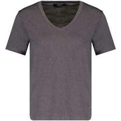 Vêtements Femme T-shirts manches courtes Deeluxe T-Shirt GLOWY Grey Lurex