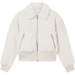 Vêtements Femme Blousons Calvin Klein Jeans Polar fleece jacket Blanc