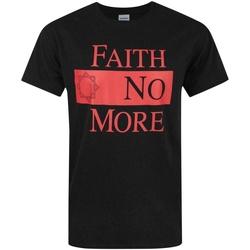 Vêtements Homme T-shirts manches courtes Faith No More  Noir