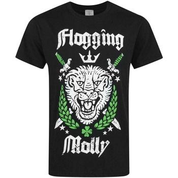 Vêtements Homme T-shirts manches courtes Flogging Molly  Noir / Blanc / Vert