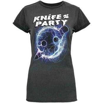 Vêtements Femme T-shirts manches courtes Amplified  Gris foncé