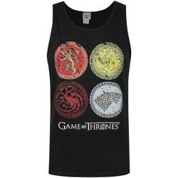 Vêtements Homme Débardeurs / T-shirts sans manche Game Of Thrones  Noir