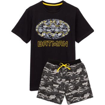 Vêtements Homme Pyjamas / Chemises de nuit Dessins Animés  Noir / gris