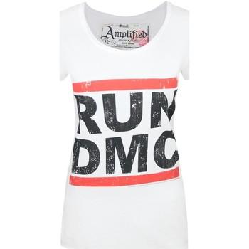 Vêtements Femme T-shirts manches courtes Amplified  Blanc