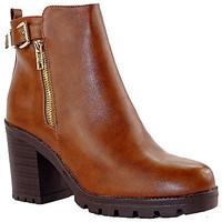 Chaussures Femme Bottines Cink-me BOT40 CAMEL
