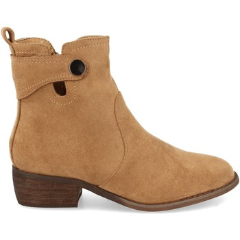 Chaussures Femme Bottines Buonarotti 2A-1408 Camel