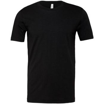 Vêtements T-shirts manches courtes Bella + Canvas CVC3001 Noir chiné