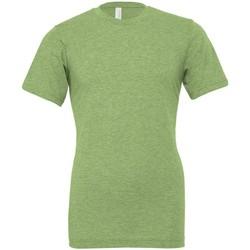 Vêtements T-shirts manches courtes Bella + Canvas CVC3001 Vert chiné