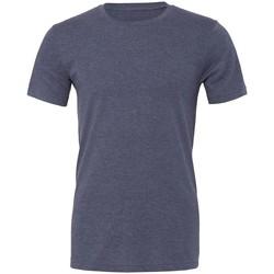 Vêtements T-shirts manches courtes Bella + Canvas CVC3001 Bleu marine