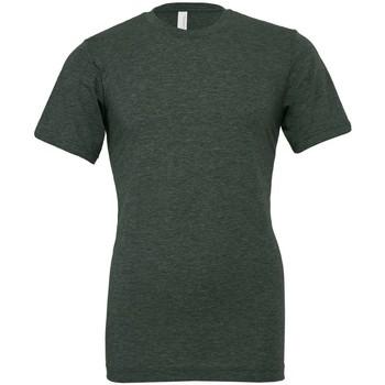 Vêtements T-shirts manches courtes Bella + Canvas CVC3001 Vert