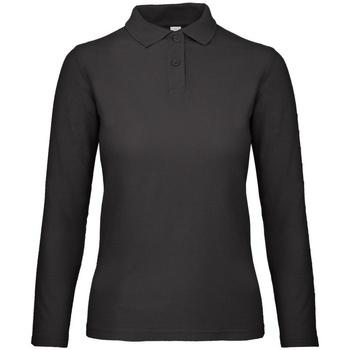 Vêtements Femme Polos manches longues B And C PWI13 Noir