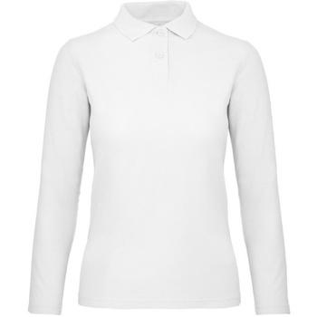 Vêtements Femme Polos manches longues B And C PWI13 Blanc