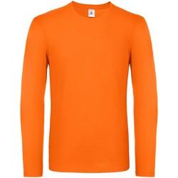 Vêtements Homme T-shirts manches longues B And C TU05T Orange