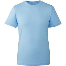 Vêtements Homme T-shirts manches courtes Anthem AM010 Bleu clair