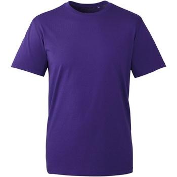 Vêtements Homme T-shirts manches courtes Anthem AM010 Violet