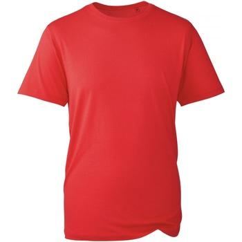 Vêtements Homme T-shirts manches courtes Anthem AM010 Rouge