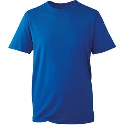 Vêtements Homme T-shirts manches courtes Anthem AM010 Bleu roi