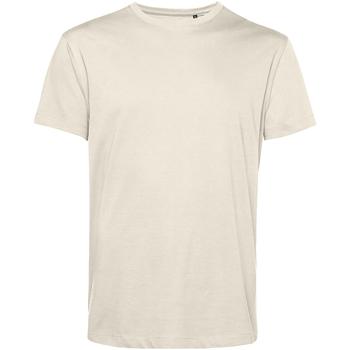 Vêtements Homme T-shirts manches courtes B&c TU01B Blanc cassé