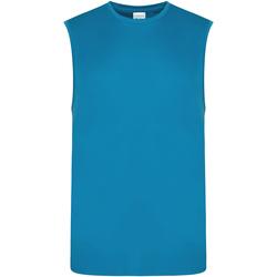 Vêtements Homme Débardeurs / T-shirts sans manche Awdis JC022 Bleu saphir