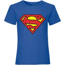 Vêtements T-shirts manches courtes Dessins Animés  Bleu