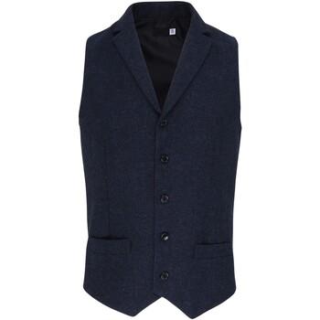 Vêtements Homme Gilets de costume Premier PR625 Bleu marine