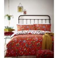 Maison & Déco Housses de couettes Creative Cloth Lit King Size Orange