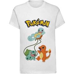 Vêtements Enfant Bottines / Boots Pokemon  Blanc