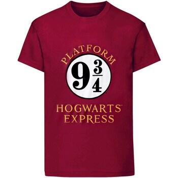 Vêtements Femme T-shirts manches courtes Harry Potter  Violet