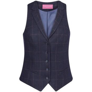 Vêtements Femme Gilets de costume Brook Taverner BK521 Bleu marine