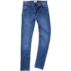 Vêtements Homme Jeans droit Awdis SD004 Bleu