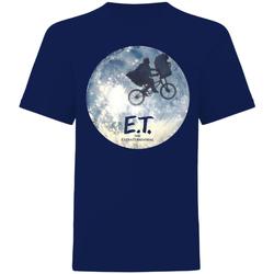 Vêtements T-shirts manches courtes E.t. The Extra-Terrestrial  Bleu