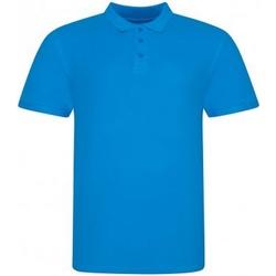 Vêtements Homme Polos manches courtes Awdis JP100 Azur
